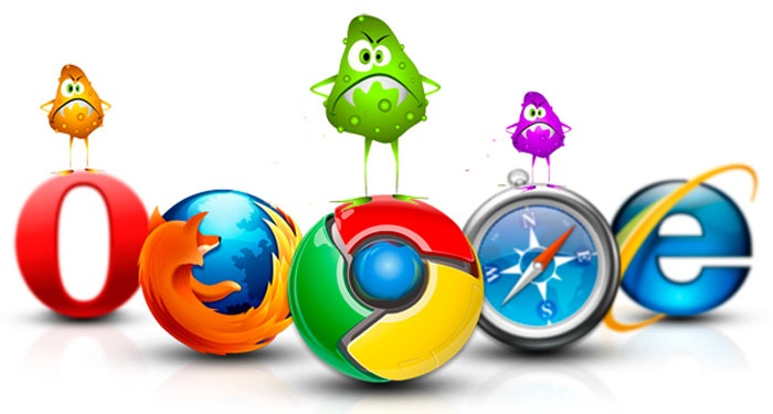 Вирусная реклама в браузерах