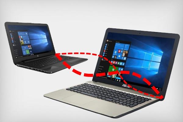 Подключение двух ноутбуков