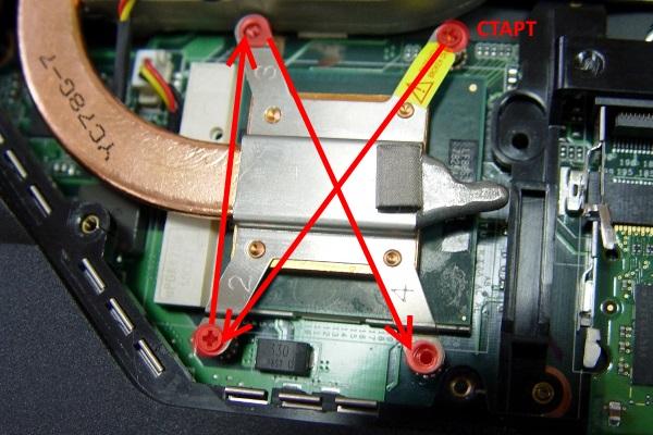 Прикрутить термоплощадку к процессору